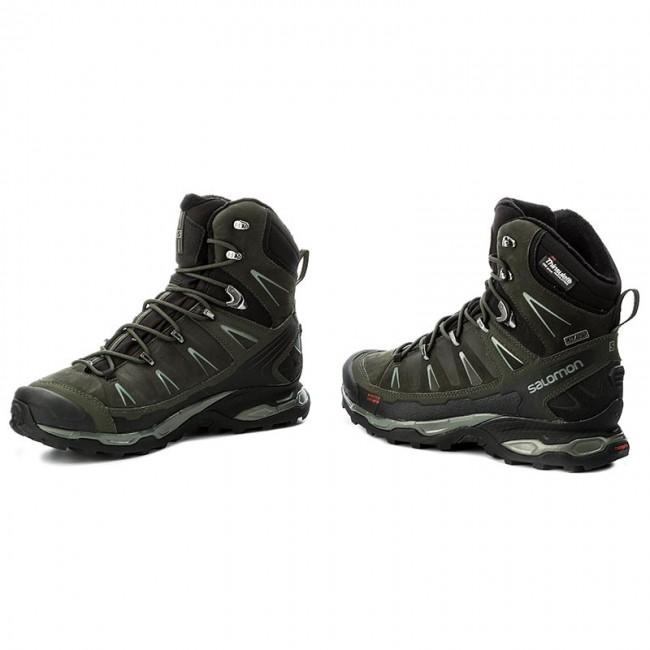 new style 66011 b18f7 Trekker Boots SALOMON - X Ultra Winter Cs Wp 398503 27 V0  Black/Rosin/Castor Gray