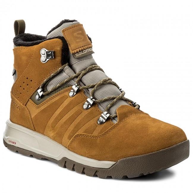 Trekker Boots SALOMON Utility Ts Cswp 398478 27 V0 Vintage KakiRawhide LtrMilitary Olive