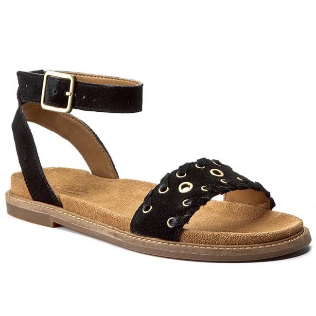 Sandals CLARKS - Corsio Amelia 261240774 Black Sde