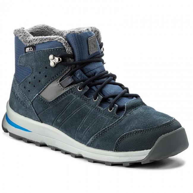 bbf085cd Boots SALOMON - Utility Ts Cswp J 391869 16 W0 Slateblue/Deep Blue/Pool