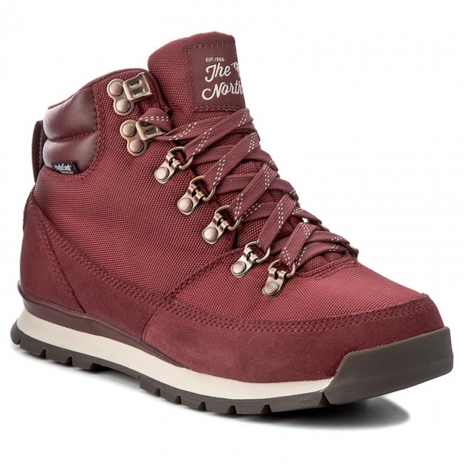 b015e10bb Hiking Boots THE NORTH FACE - Back-To-Berkeley Redux T0CLU7VFZ Barolo Red/Vintage  White - Trekker boots - High boots and others - Women's shoes - efootwear.  ...