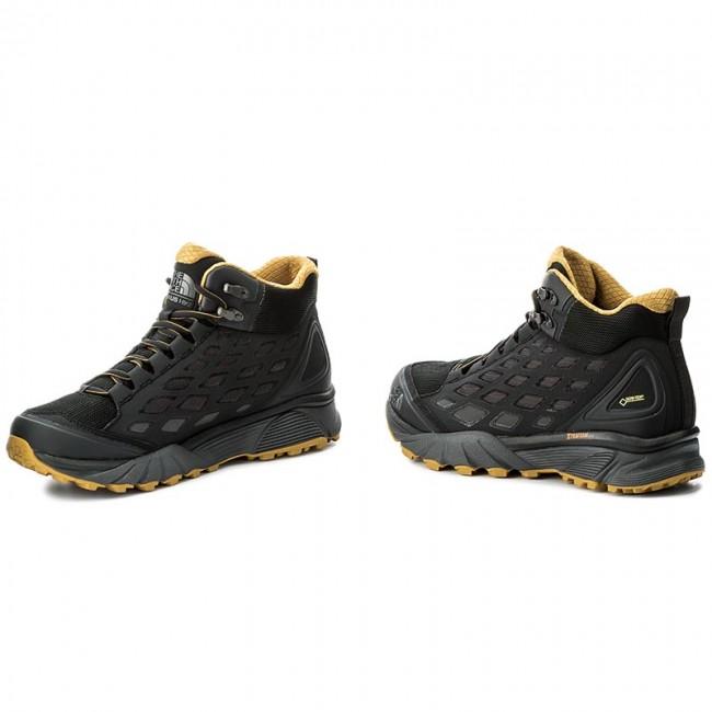 d3b546354 Trekker Boots THE NORTH FACE - Endurus Hike Mid Gtx GORE-TEX T92YAAZFL  Phantom Grey/Arrowwood Yellow