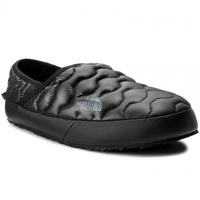 7f814184f Slippers THE NORTH FACE - Thermoball Traction Mule IV T933IEYXA Shiny Tnf  Black/Dark Shadow Grey