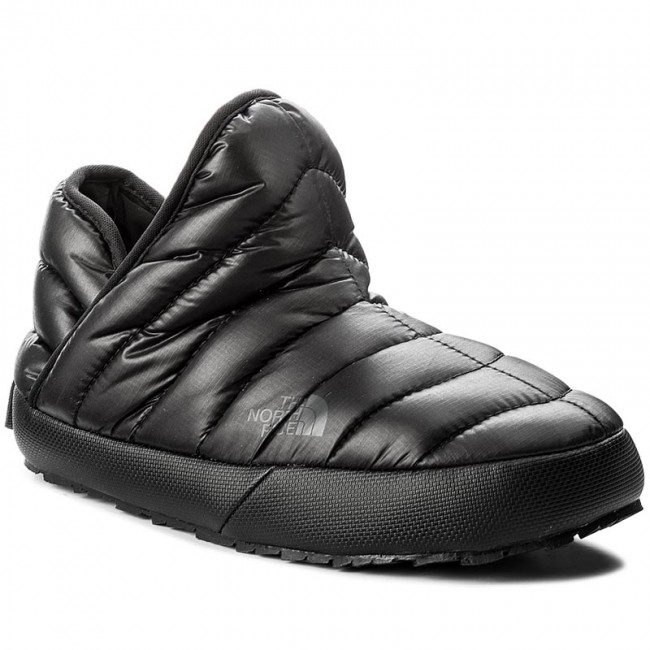 18ce2da9f Slippers THE NORTH FACE - Thermoball Traction Bootie T933IHYWY-050 Shiny  Tnf Black/Beluga Grey