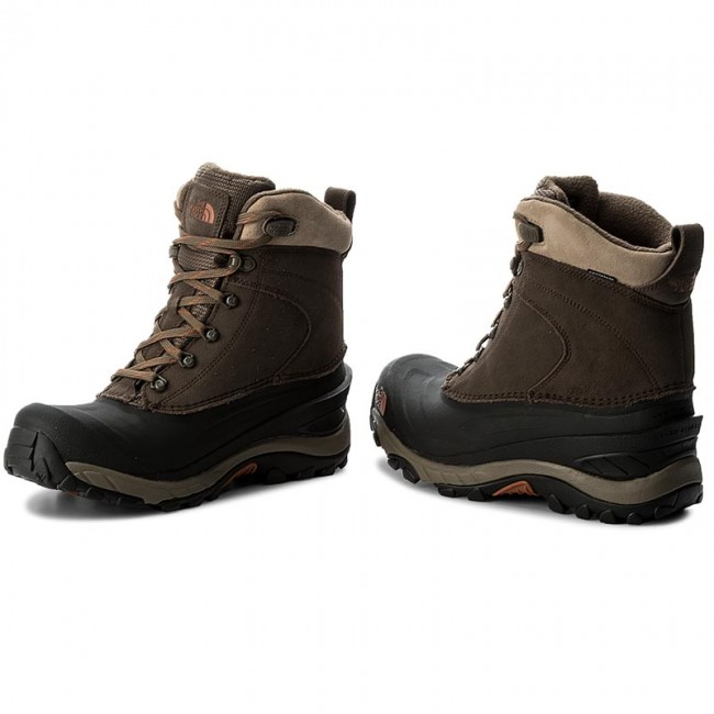 df9a76f5c83 Snow Boots THE NORTH FACE - Chilkat III T939V6YVA Mudpack Brown/Bombay  Orange