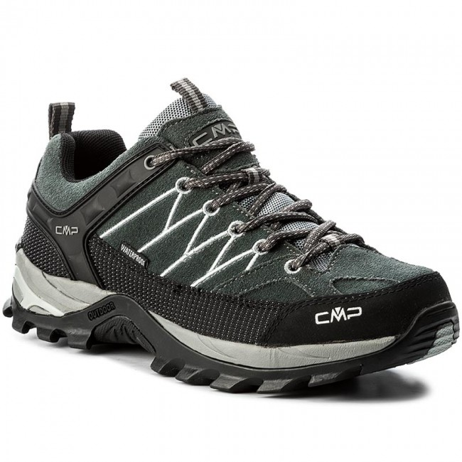 Trekker Boots CMP Rigel Low Trekking Shoes Wp 3Q13247 GreyMineral Grey 722P