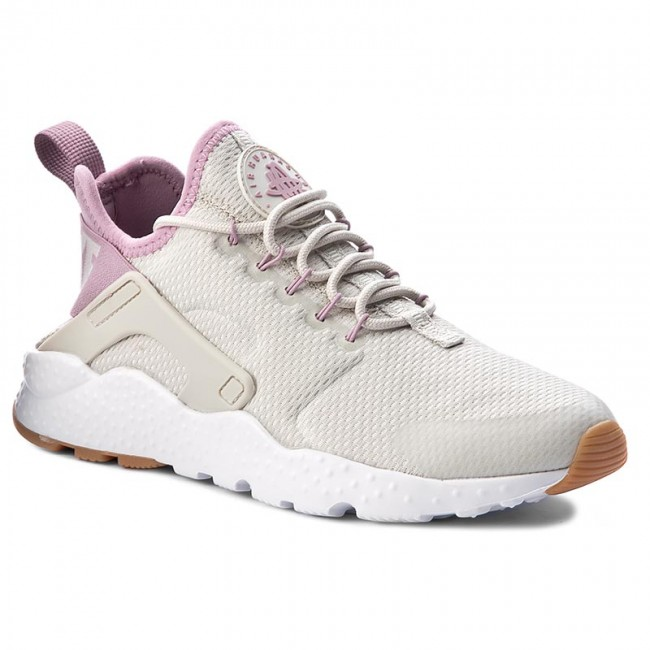 Shoes NIKE - W Air Huarache Run Ultra 819151 009 Light Bone/Orchid/Gum Yellow