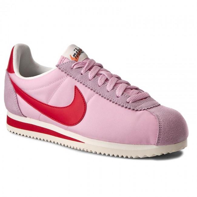 huge discount 935b3 a5e95 Shoes NIKE - Wmns Classic Cortez Nylon Prem 882258 601 Perfect Pink/Sport  Red/Sail