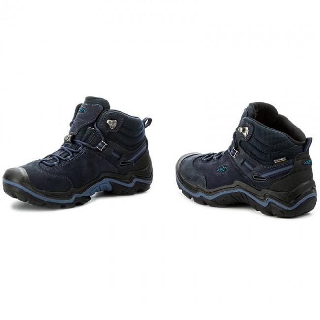 super popular b0926 6a9ad Trekker Boots KEEN - Wanderer Mid Wp 1016987 Dark Sea/Night