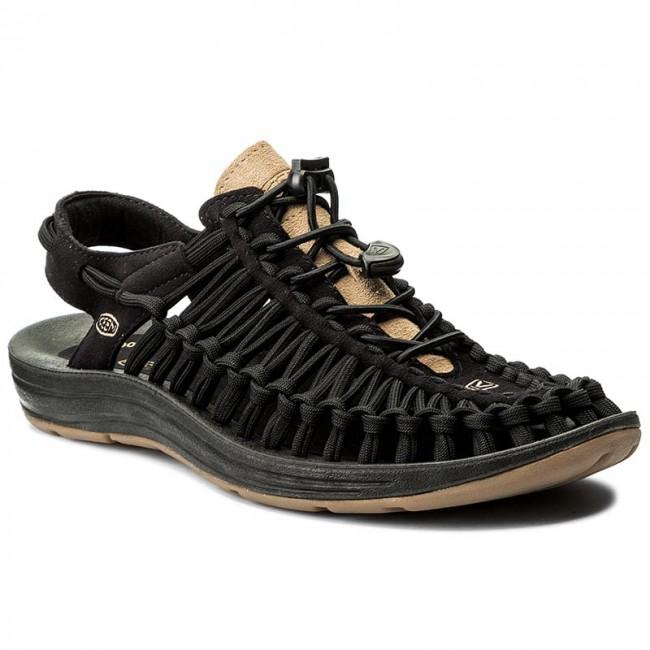 Sandals KEEN - Uneek Flat 1017842 Black