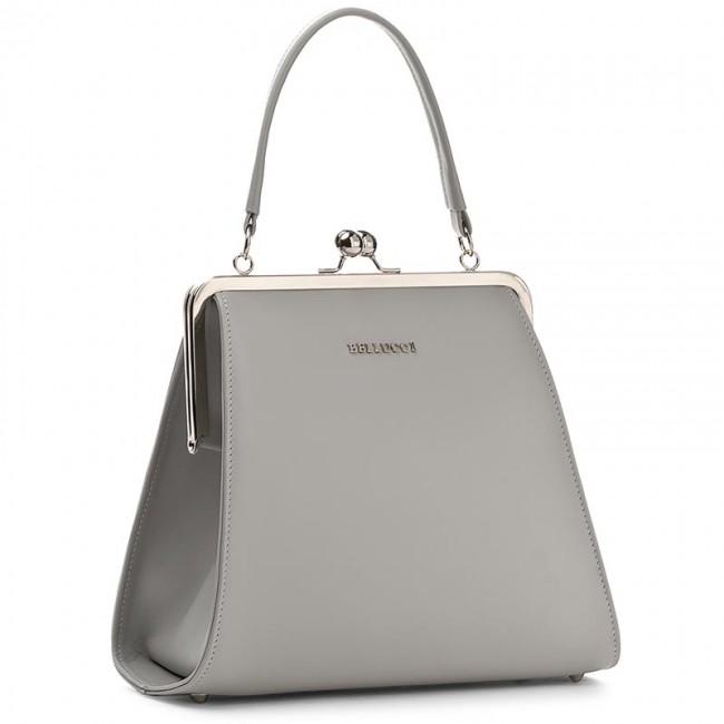 Handbag BELLUCCI - R-110 Popiel Lico