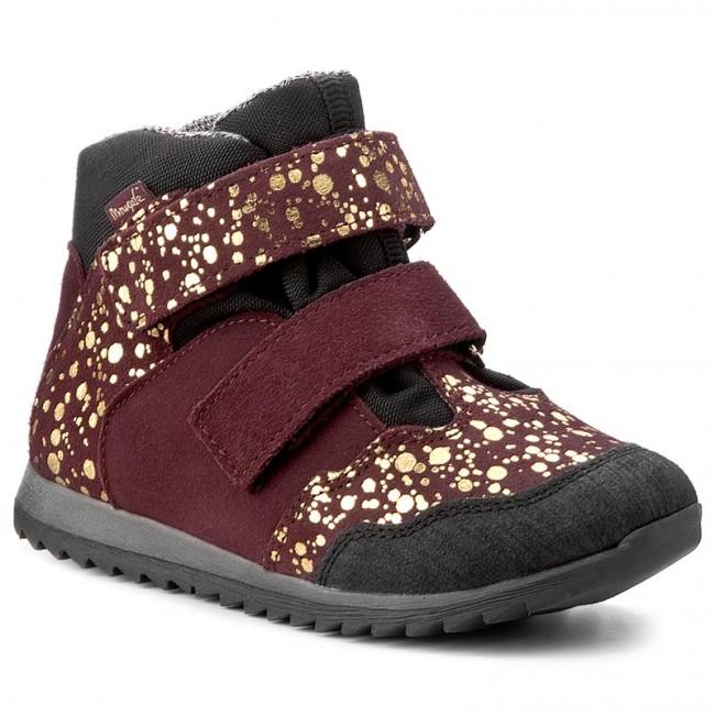Boots MRUGAŁA Jogi 6358 51 Plum Spots Boots High boots