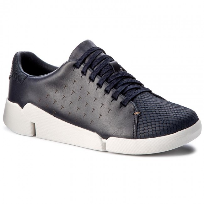 Sneakers CLARKS Tri Abby 261194904 Navy Leather