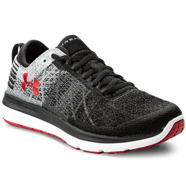 san francisco 326a9 0e4a0 Shoes UNDER ARMOUR - Ua Threadborne Fortis 1295734-003 Blk/Gph/Red