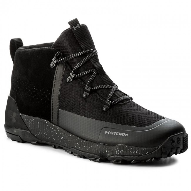 En la madrugada tabaco Crítico  Trekker Boots UNDER ARMOUR - Ua Burnt River 2.0 Mid 1299197-001 Blk/Blk/Gph  - Trekker boots - High boots and others - Men's shoes | efootwear.eu