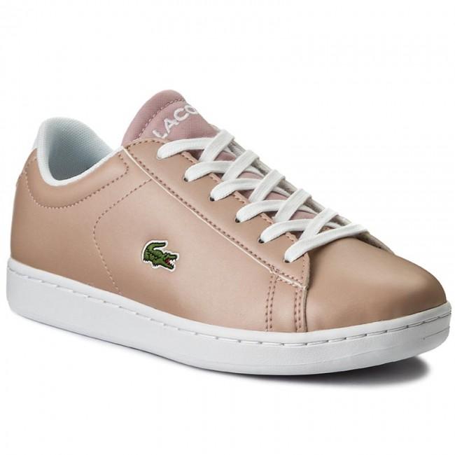 a72fc97e63fbd8 Sneakers LACOSTE - Carnaby Evo 317 6 Spj 7-34SPJ000615J Lt Pnk ...