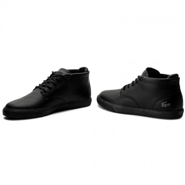 Boots Lacoste Espere Chukka 317 1 Cam 7 34cam001302h Blk Blk Boots High Boots And Others Men S Shoes Efootwear Eu