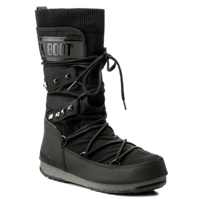 Snow Boots MOON BOOT - We Monaco Shadow Wp 24007400001  Nero