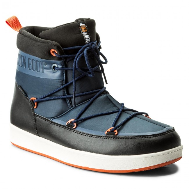 meet 169d9 9eeb3 Snow Boots MOON BOOT - Neil Wp 14300900001 Blu Sc./Nero/Arancio