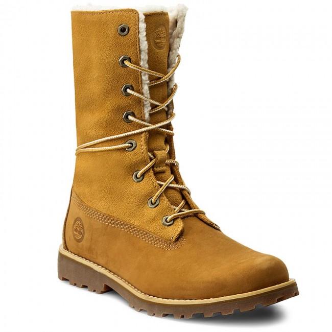 7d40b087132 Hiking Boots TIMBERLAND - 6 In Wp Shearling Bo A156N/TB0A156N2311 Wheat