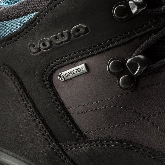 Online-Verkauf viel rabatt genießen überlegene Materialien Trekker Boots LOWA - Bormio Gtx Qc Ws GORE-TEX 320914 Black/Petrol 9977