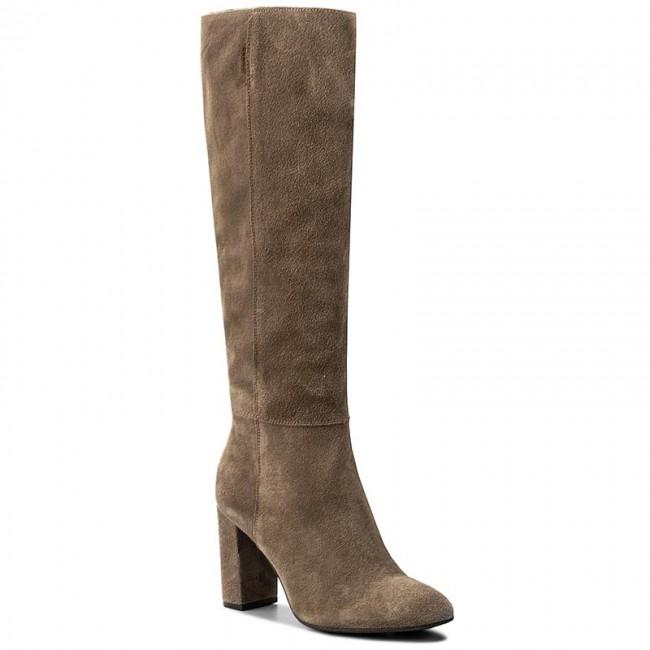 Knee High Boots NESSI - 911/N Beż W1