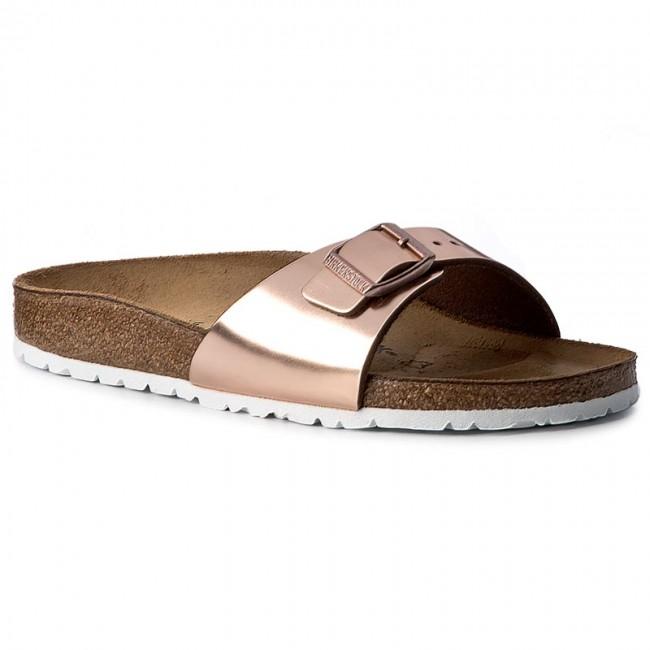 separation shoes 2e182 58327 Slides BIRKENSTOCK - Madrid Bs 1005051 Metallic Copper