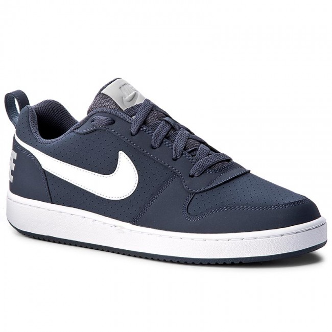 online retailer latest fashion limited guantity Shoes NIKE - Court Borough Low 838937 401 Thunder Blue/White/Wolf Grey
