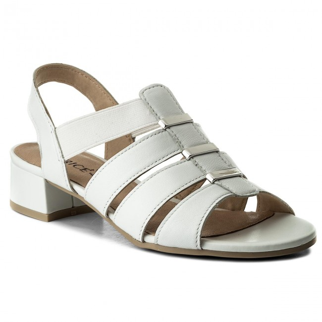 Sandals CAPRICE - 9-28200-20 White Perlato 139