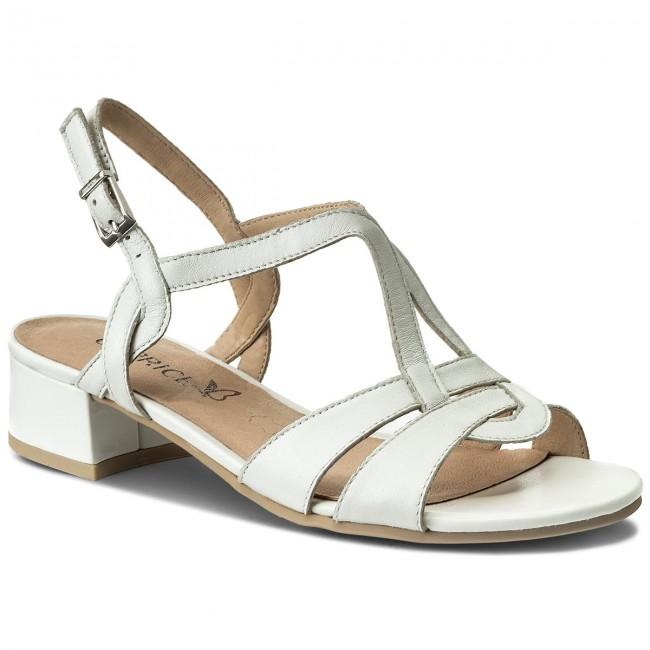 Sandals CAPRICE - 9-28201-20 White Perlato 139