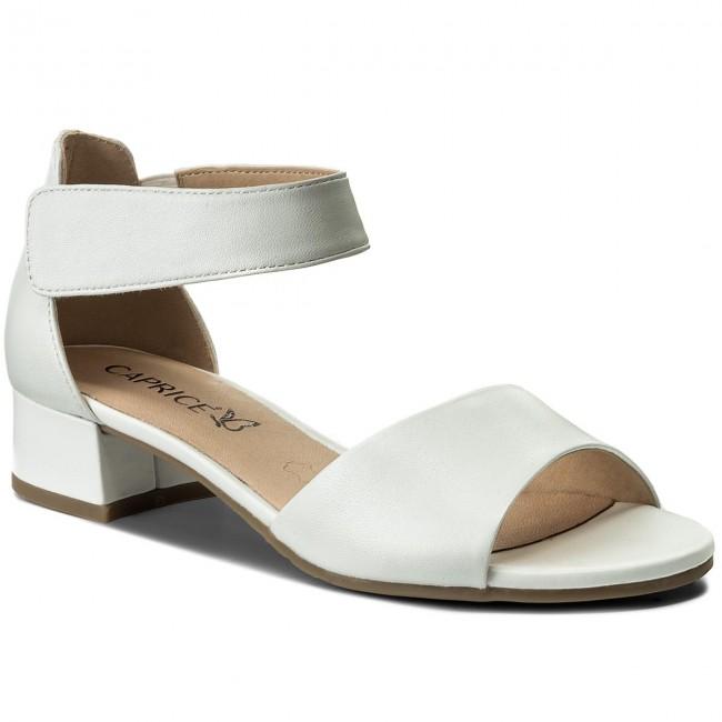 Sandals CAPRICE - 9-28212-20 White Perlato 139