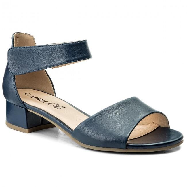 Sandals CAPRICE - 9-28212-20 Navy Nappa 876
