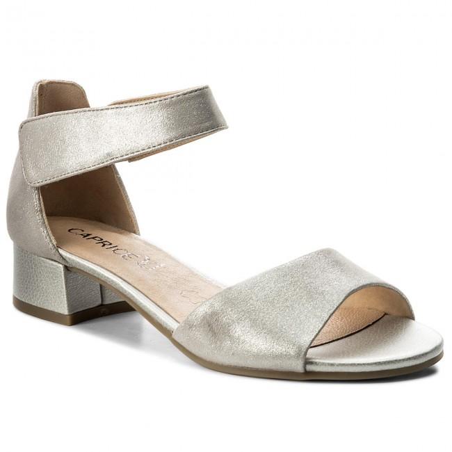Sandals CAPRICE - 9-28212-20 Silver Metal 920