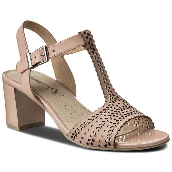 Sandals CAPRICE - 9-28301-20 Rose Nappa 511