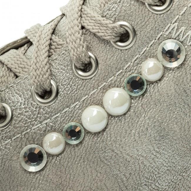 Shoes RIEKER M3503 80 Grau Kombi Flats Low shoes