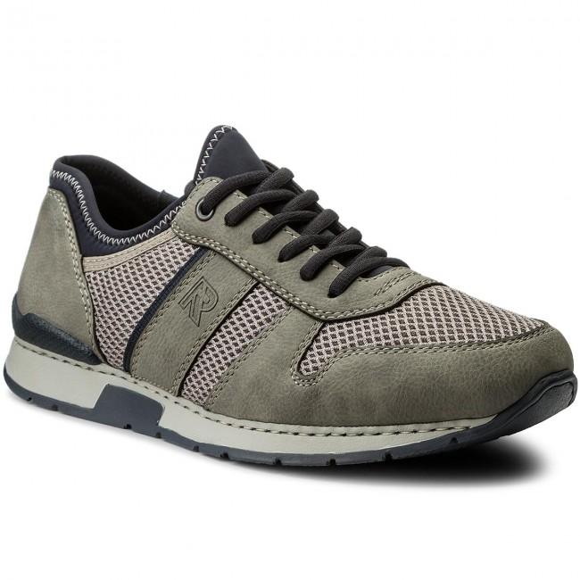 Shoes RIEKER 19400 41 Grey