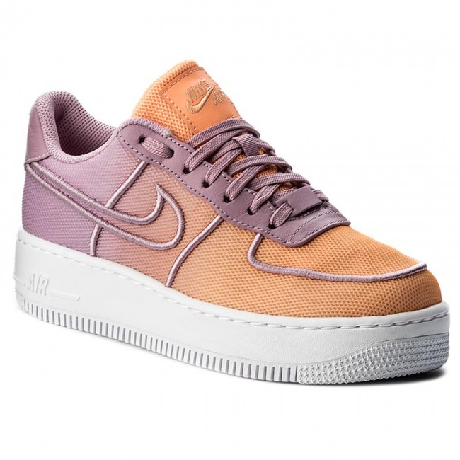 san francisco c25ef 20b6b Shoes NIKE - W Af1 Low Upstep Br 833123 500 Orchid/White/Sunset Glow