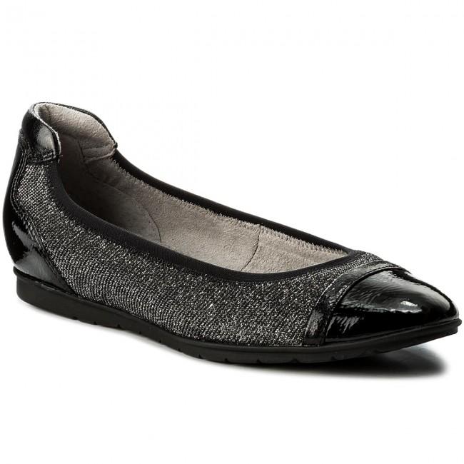 Shoes TAMARIS - 1-22109-20 Black Comb 098