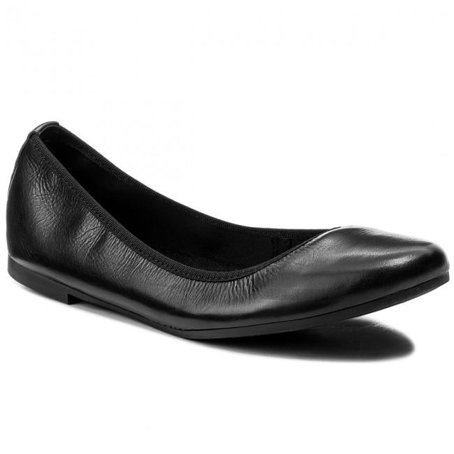 Flats TAMARIS - 1-22128-20 Black Leather 003