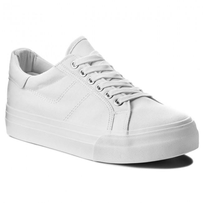 Plimsolls TAMARIS - 1-23602-20 White 100
