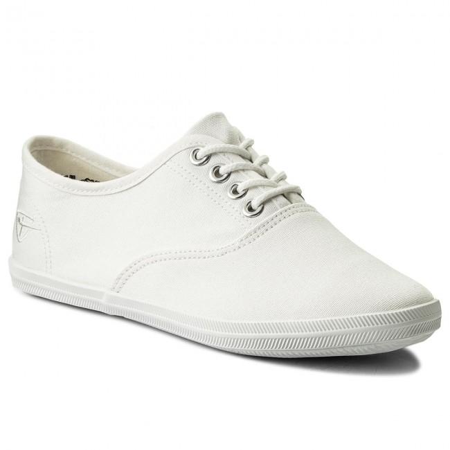 Plimsolls TAMARIS - 1-23609-20 White 100
