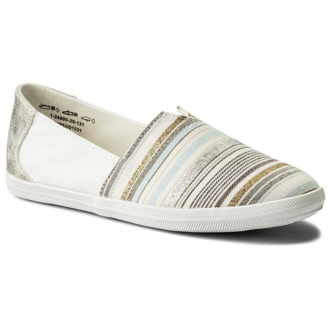 Shoes TAMARIS - 1-24600-20 Offwhite Comb 131