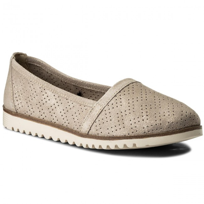 Shoes TAMARIS - 1-24613-20 Beige Metallic 405