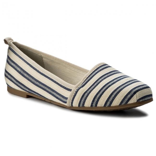 Shoes TAMARIS - 1-24668-20 Navy Stripes 865