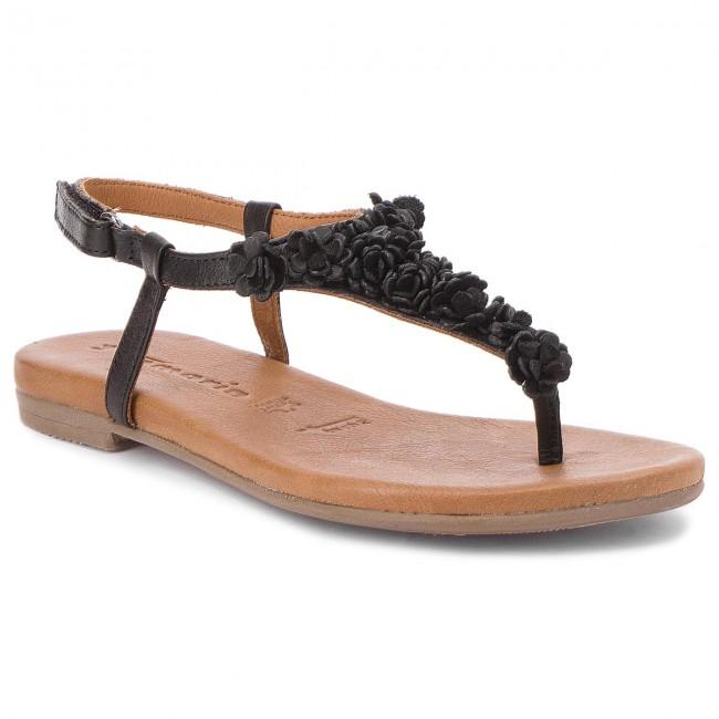 Slides TAMARIS 1 28121 20 Black 001