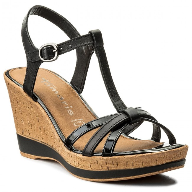 Sandals TAMARIS - 1-28347-20 Black Uni 007