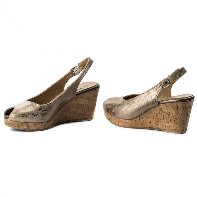 Sandals TAMARIS 1 29313 20 Champ.Met.Sued 185