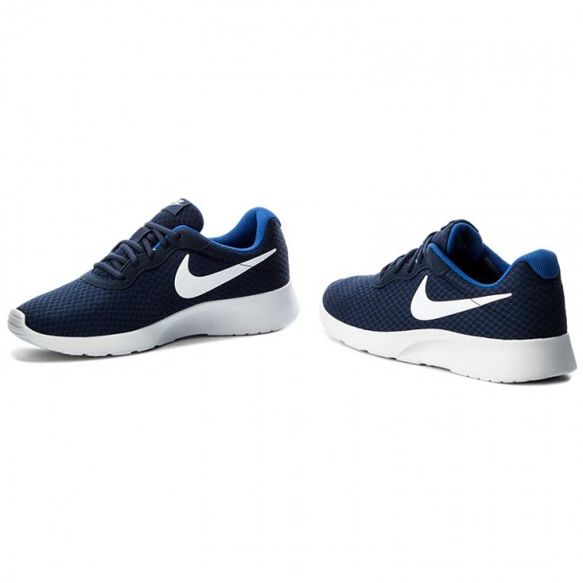 Nike TANJUN Mens Midnight Navy//White-Game Royal 812654-414 Lace Up Casual Shoes