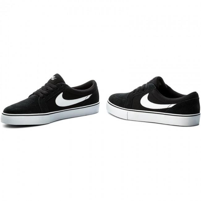 Shoes Nike Sb Satire Ii 729809 001 Black White Plimsolls Low
