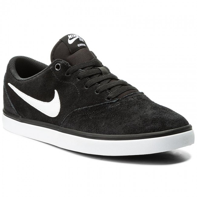 Shoes NIKE Sb Check Solar 843895 001 BlackWhite